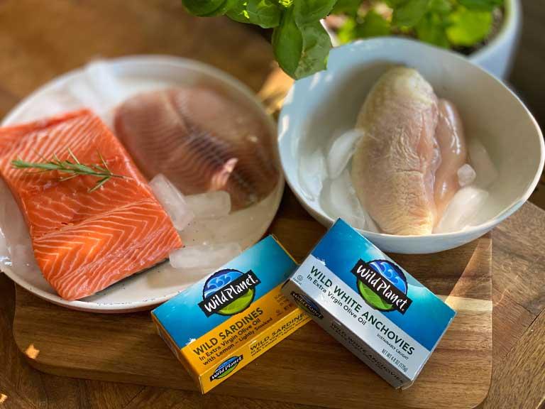 alimentacion saludable proteina